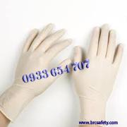 Găng tay cao su Glove latex