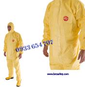 Quần áo chống hoá chất Tychem C