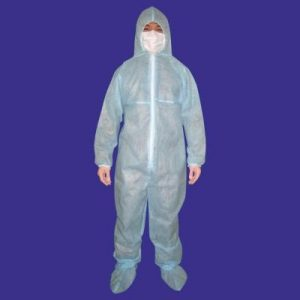 Quần áo chống hoá chất vải không dệt